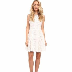 NWT Adelyn Rae White Lace Dress